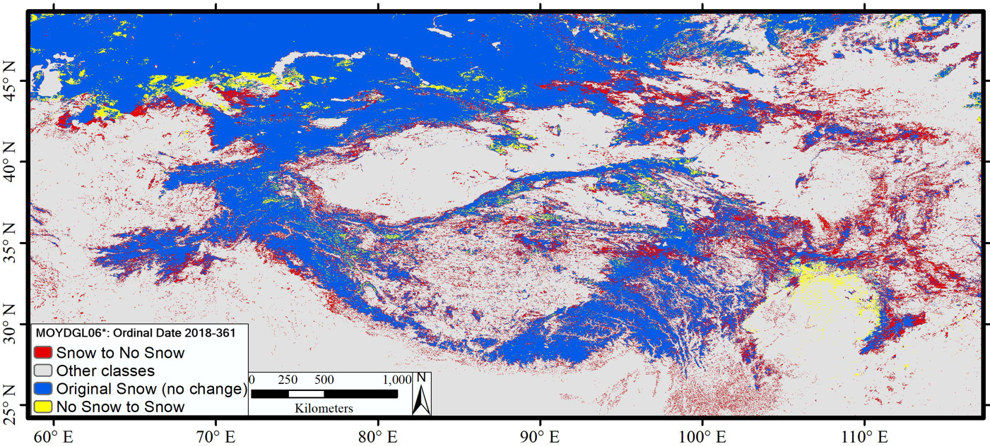 An improved Terra–Aqua MODIS snow cover and Randolph Glacier Inventory 6.0 combined product (MOYDGL06*) for high-mountain Asia between 2002 and 2018